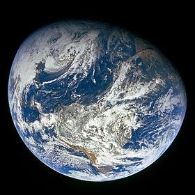 Tierra Nasa Apolo 8
